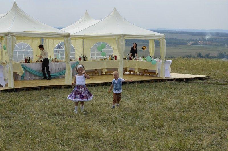 Свадебный банкет в Туймазах — август 2014