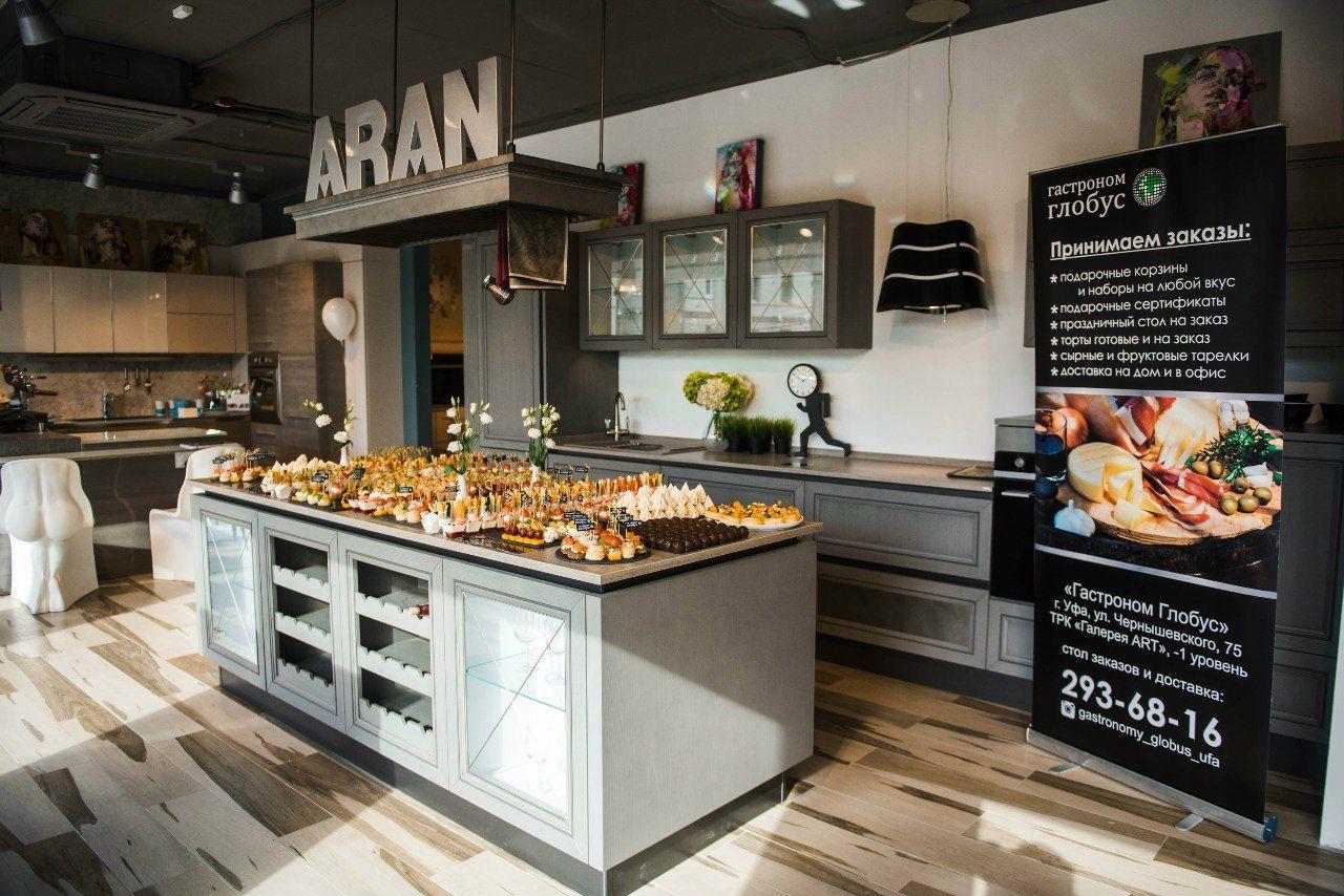 Открытие магазина «Мебель для кухонь Aran» в Уфе