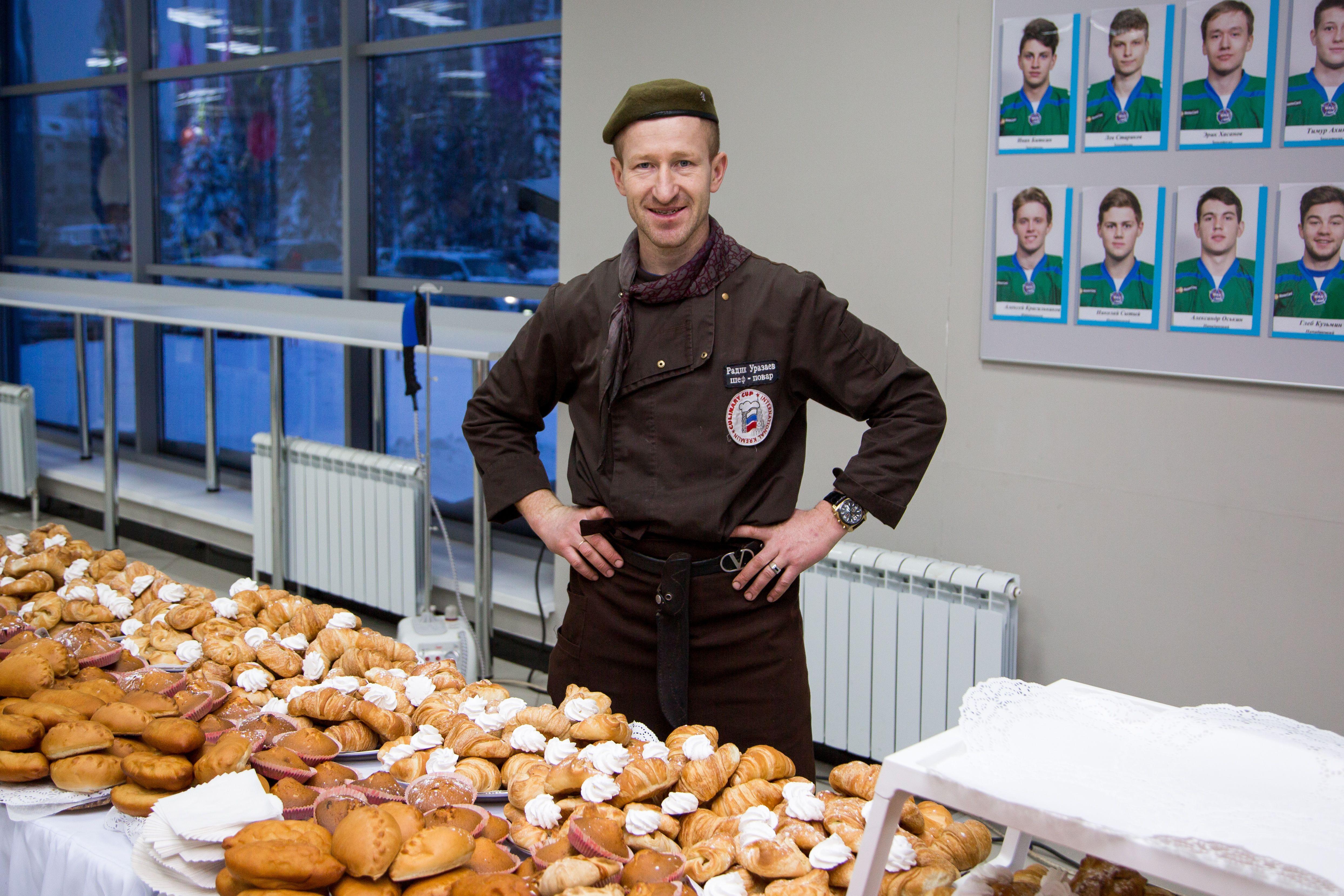 Фуршет Башнефть, Елка в Дворце Спорта, 1200 человек